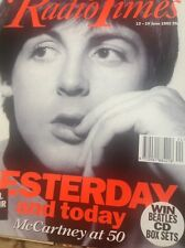 ephemera 1992 Article Paul Mccartney Yesterday And Today 4 Pages