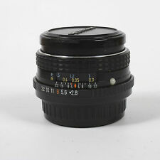 SMC Pentax  M 28mm F2.8 K  Mount Wide Angle Manual Prime Lens VGC