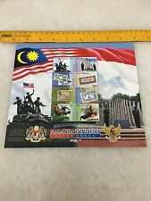 (JC) Malaysia Indonesia Joint Issue -  2011 stamps sheetlet MNH 8V