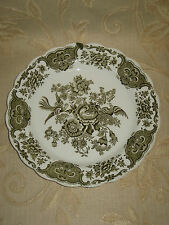 Vintage Collectable Ridgway Staffordshire Windsor Green Dinner Plate