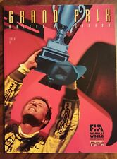 1994 F1 Grand Prix Molson du Canada guide (Michael Schumacher on cover)