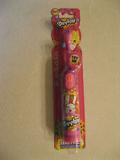New Shopkins Brush Buddies Electric Soft Tooth Brush for Kids