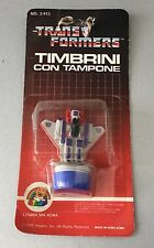 1985#Starscream Ink Stamper Stamp Bot Transformers G1 Hasbro Action Figure