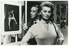 Photographie vintage Cinéma Sophia Loren vers 1960 / photo Film movie pin-up