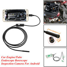 Car Engine Oil Pump Waterproof Endoscope Borescope Inspection Camera For Android