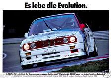 BMW E30 M3 DTM  Motorsport poster print # 2