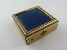 Vintage Small Blue Top Box