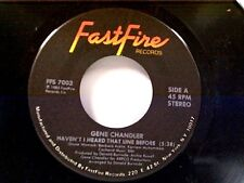 """GENE CHANDLER """"HAVEN'T I HEARD THAT LINE BEFORE / YOU'LL NEVER BE FREE OF ME""""MT"""