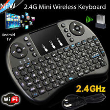 New! 2.4G Mini Wireless Keyboard With Touchpad Mouse For PC iPad Android TV BOX