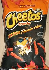 1 Bag XXTRA Flamin' Hot Cheetos 3.5 oz Crunchy It Going To Be A Hot Winter