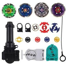 Top Metal Master Fusion Rapidity Fight Beyblade 4D Launcher Grip Set US Seller