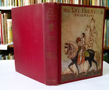 Gustaf Tenggren, Andrew Lang, RED FAIRY BOOK, fairy tales, 1st Ed Thus, 1924