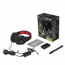 NEMESIS AKUMA OPTICAL WIRE HEADSET PC PS4 PS3 XBOX360 ONE GAMING HEADPHONES MIC