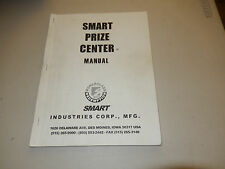 SMART PRIZE CENTER     video game owners manual