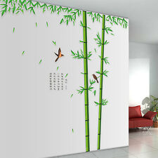 60*90cm Chinese Style Bamboo Wall Stickers Living Room TV Wall Sofa Wall Sticker