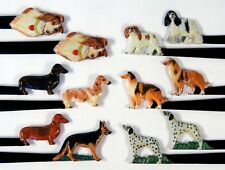 Hand Painted Art Assorted Dog Letter Opener (Set of 12) 963D