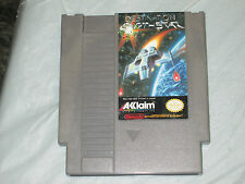 Destination Earthstar (Nintendo NES, 1990) cart only good