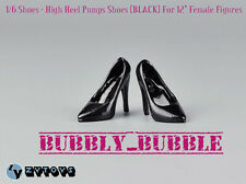"1/6 Female High Heel Pumps Shoes For Phicen Hot Toys 12"" Figures SHIP FROM USA"