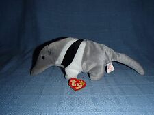 Vtg. Collectible Ty Beanie Baby Plush Ant Eater- Ants, B-day Nov. 7, 1997, T4