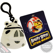 Angry Birds Stormtrooper Bag Clip. Retro Sci Fi Rovio Mobile Game Cool Kids Gift