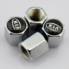 Silver Style Car Parts Wheels Tire Tyre Valve Air Dust Caps For Kia Accessories