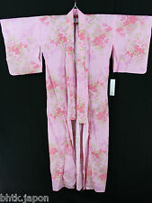 浴衣 Yukata japonais - Rose - Véritable yukata import direct du Japon !