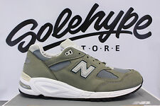 NEW BALANCE 990 MADE IN USA GREY GREEN M990KBM2 SZ 7.5
