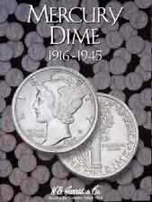H.E. Harris - Mercury Dimes Folder 1916-1945