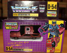 1986 Takara Transformers G1 Series 3 Stunticon Deadend D-54 Scramble City MISB