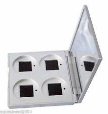 Stila 4-Pan Plata Recambio compacto con espejo Soporte 4 Tamaño Estándar