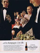 Publicité Advertising 016 1968 Veuve Cliquot-Ponsardin Champagne