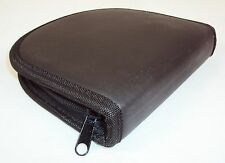 CD/DVD 12 Disc Wallet ~ CASE LOT 100 UNITS ~ Nylon, Zippered, New In Box