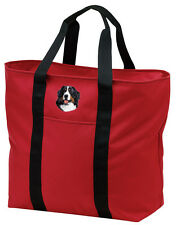 Bernese Mountain Dog Embroidered All Purpose Tote