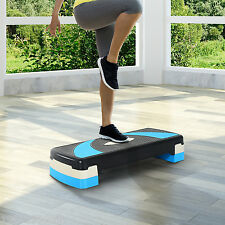 Soozier Adjustable Aerobic Stepper Step Exercise Trainer Workout  Fitness Yoga