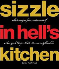 SIZZLE IN HELL'S KITCHEN Ethnic Recipes from Restaurants of New York BRAND NEW