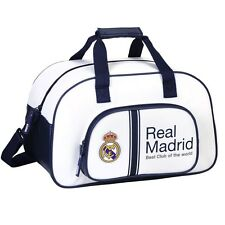 OFFICIAL Real Madrid Travel Sports Bag Weekend Gym PREMIUM Duffel Bag 40cm