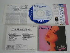 The three Sounds/Moods (Blue Note tocj - 4044) Giappone CD + OBI