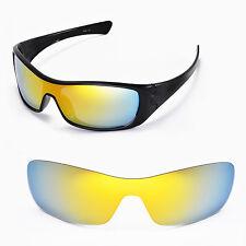 New Walleva Polarized 24K Gold Replacement Lenses For Oakley Antix Sunglasses