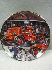 Lot of 6! Franklin Mint Collectible Plates * National Fire Museum *