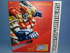 Transformers Platinum Edition Supreme Starscream NEW IN BOX