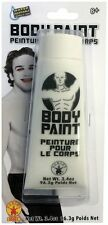 White Body Paint Makeup Ghost Sports Events Team Spirit Halloween Costume
