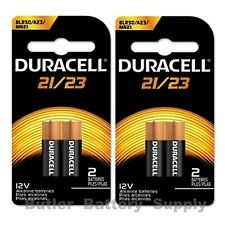 4 x 21/23 Duracell 12V Alkaline Batteries (8LR50, A23, MN21, Security)