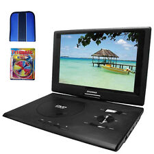"Sylvania 13.3"" DVD Player (Swivel) w/ USB/SD Card Reader - Essentials Bundle"