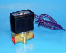 """1/4"""" ELECTRIC SOLENOID VALVE - 12 VOLT DC  ( NORMALLY CLOSED OPERATION )"""