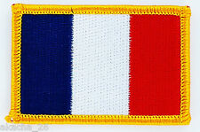 PATCH ECUSSON BRODE DRAPEAU FRANCE français INSIGNE THERMOCOLLANT NEUF FLAG