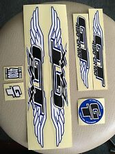 "GT BMX WINGED DECAL SET NOS RARE DYNO 24"" 20"" SE Schwinn Stickers"