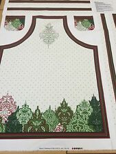 Christmas Apron Panel By Fabri-Quilt - 100% Heavyweight Cotton - Patt 114A-142