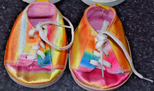Build a Bear Shoes Slip On Laces Rainbow Multi-color gm