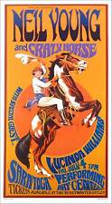 Neil Young & Crazy Horse Poster Lucinda Williams Signed by Bob Masse
