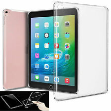 Apple New iPad Pro 9.7 inch (2016)Transparent Clear Soft TPU Gel Back Case Cover